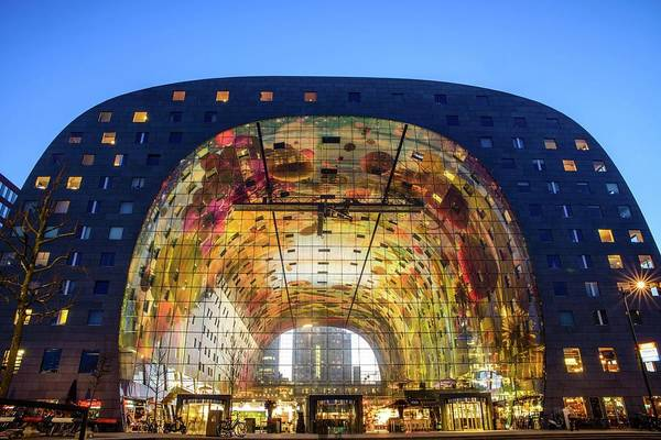 Photograph - Markthal In Rotterdam, Netherlands by Alexandre Rotenberg