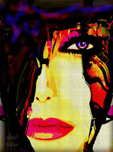 Wall Art - Painting - Marla by Natalie Holland