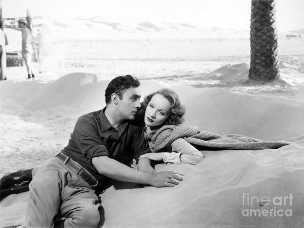 Photograph - Marlene Dietrich (1901-1992) by Granger