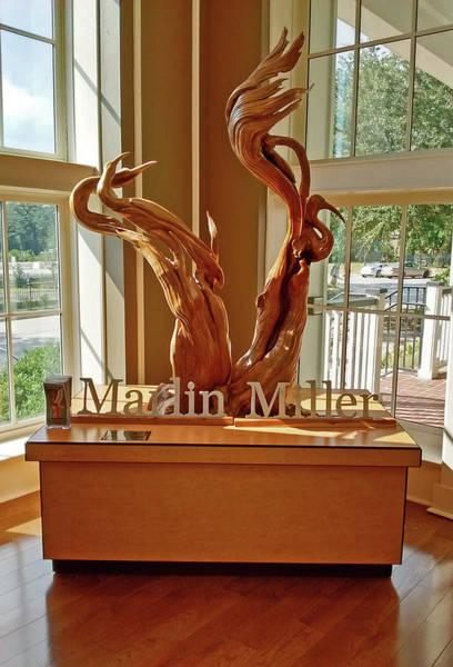 Wall Art - Photograph - Marlin Miller's Hurricane Katrina Tree Sculpture by Marian Bell