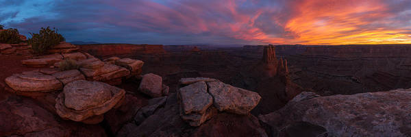 Photograph - Marlobro Point Panorama by Dustin  LeFevre