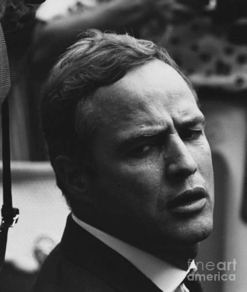 Photograph - Marlon Brando by NARA Science Source