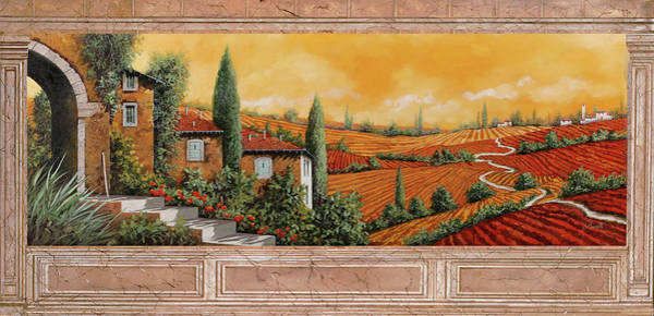 Marble Wall Art - Painting - Marmo Toscano by Guido Borelli