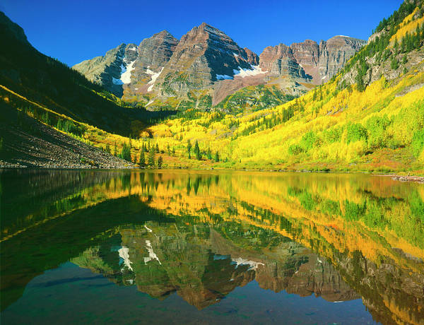 Photograph - Maroon Bells Autumn by Mark Miller
