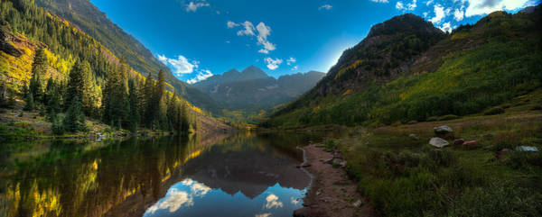 Wall Art - Photograph - Maroon Bells Colorado by Steve Gadomski