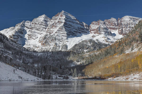 Photograph - Maroon Bells Morning by Jemmy Archer