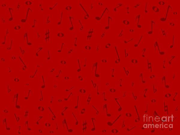 Jazz Trio Digital Art - Maroon Music Background by Bigalbaloo Stock