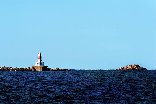 Photograph - Marquette Breakwater Lighthouse by Onyonet  Photo Studios