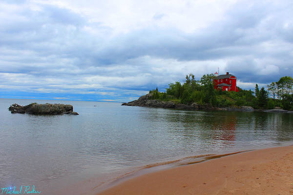 Foghorns Photograph - Marquette Harbor Lighthouse by Michael Rucker