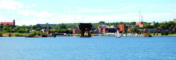 Marquette Michigan Harbor One Art Print