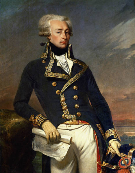 Wall Art - Painting - Marquis De Lafayette Painting - Joseph-desire Court by War Is Hell Store