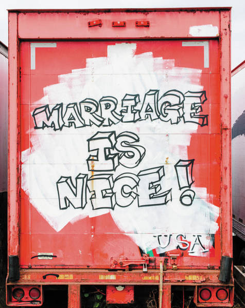 Marriage Is Nice Art Print