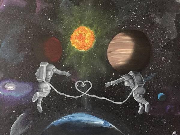 Painting - Mars And Venus by McKinson  Souverain