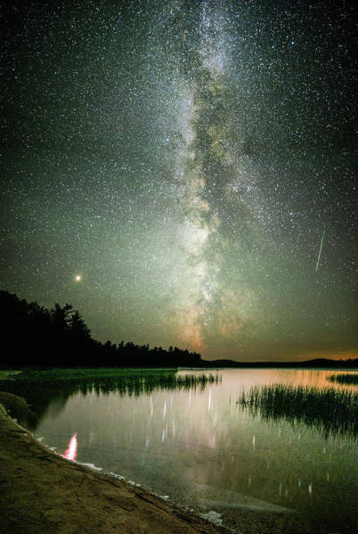 Wall Art - Photograph - Mars Over Sabao by Brent L Ander