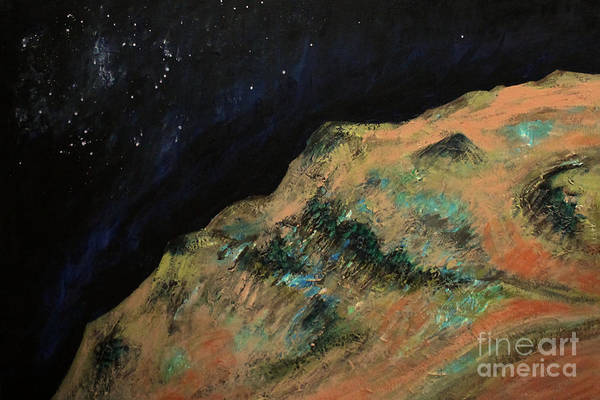 Star Formation Painting - Mars by Sandra  Francis