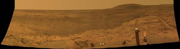 Photograph - Mars Spirit's West Valley Panorama by Artistic Panda