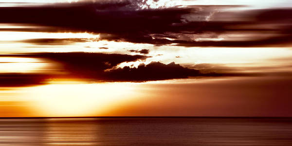 Photograph - Marsala Sunset Lake Superior by Evie Carrier