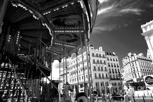 Photograph - Marseille Carousel View by John Rizzuto