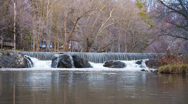 Photograph - Marsh Creek Waterfall Near Gettysburg Pa by Bill Cannon
