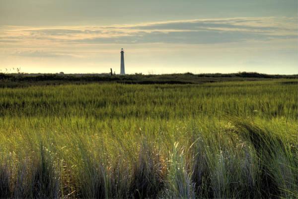 Photograph - Marsh Grass And Morris Island Lighthouse by Dustin K Ryan