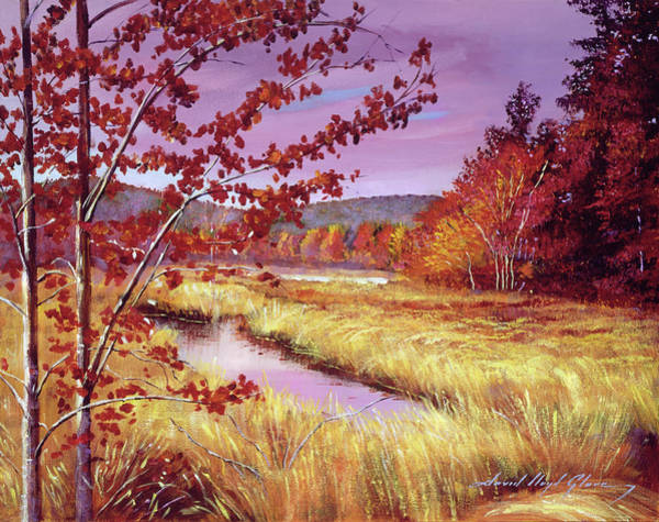 Painting - Marsh Grass by David Lloyd Glover