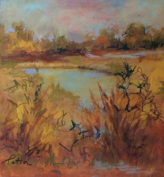 Painting - Marsh Memories by Karen Ann Patton
