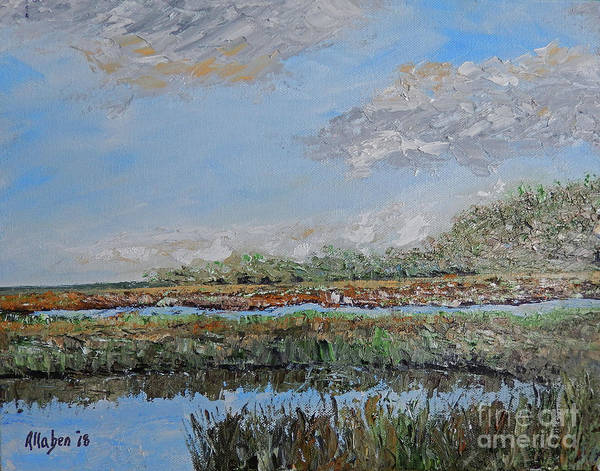 Painting - Marsh View by Stanton Allaben