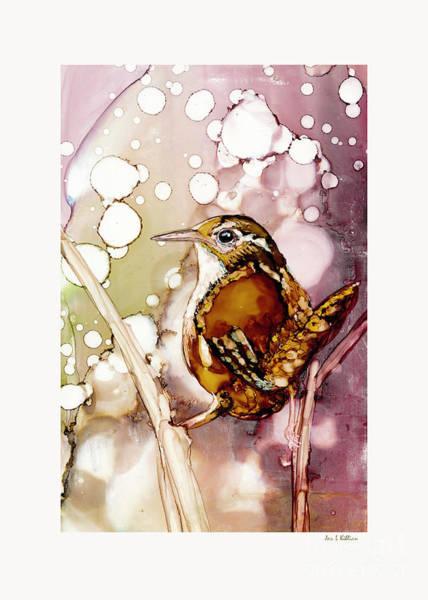 Painting - Marsh Wren by Jan Killian