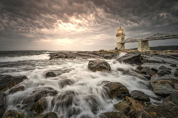 Photograph - Marshal Point Lighthouse by Thomas Gaitley