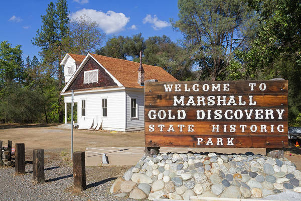 Photograph - Marshall Gold Discovery by Mark Miller