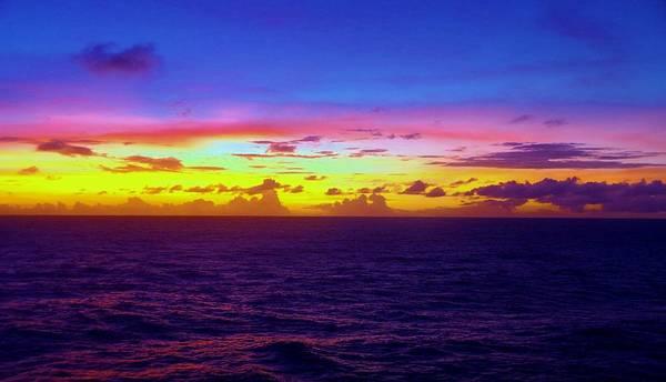 Photograph - Marshall Islands Area Sky 10,15 by Phyllis Spoor