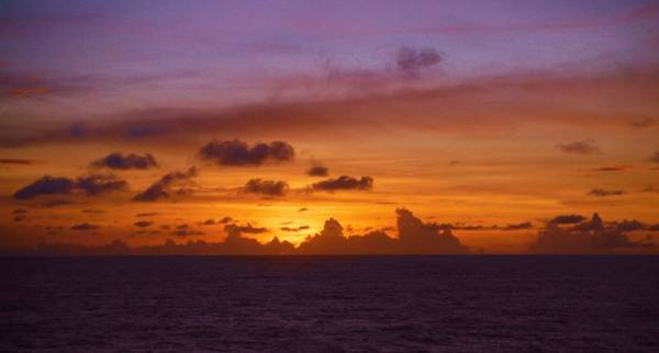 Photograph - Marshall Islands Area Sky by Phyllis Spoor