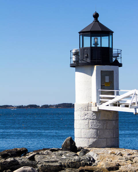 Wall Art - Photograph - Marshall Point Light by Dick Botkin