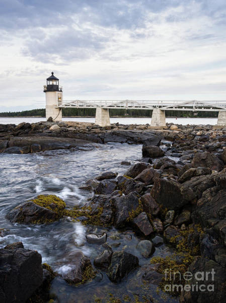 Photograph - Marshall Point Light, Port Clyde, Maine  -97514 by John Bald