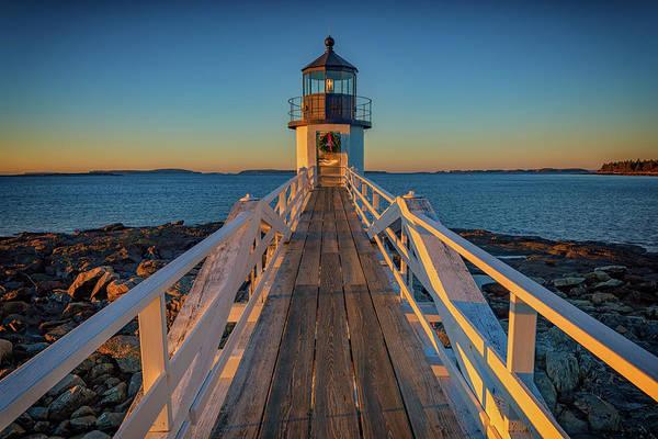 Atlantic Station Photograph - Marshall Point Light Station by Rick Berk