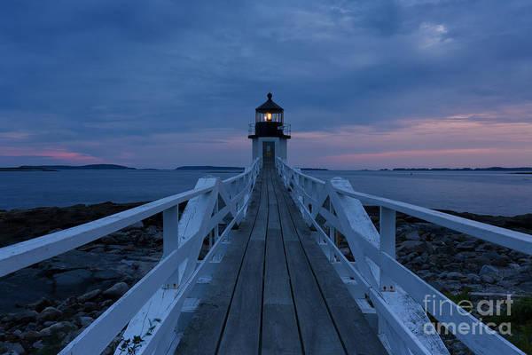 Joshua Clark Photograph - Marshall Point Lighthouse by Joshua Clark