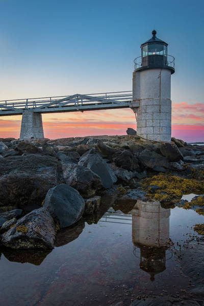 Photograph - Marshall Point Reflection At Sunrise by Jesse MacDonald