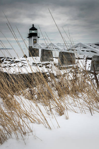 Photograph - Marshall Point Winter by Colin Chase
