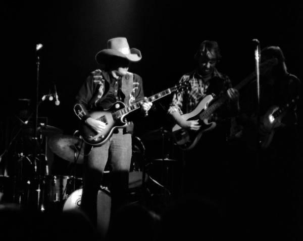 Photograph - Marshall Tucker Winterland 1975 #13 by Ben Upham
