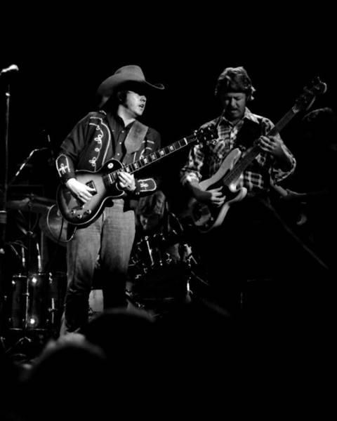 Photograph - Marshall Tucker Winterland 1975 #17 by Ben Upham