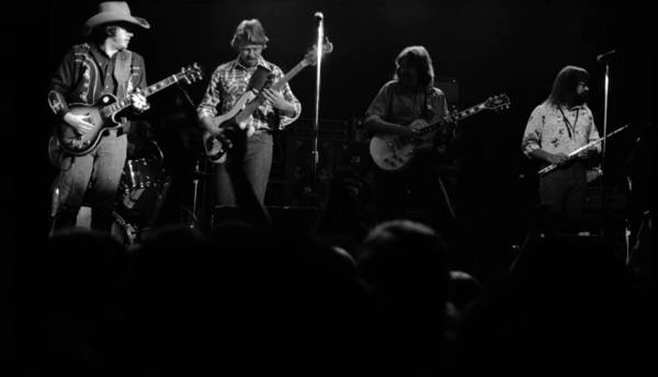 Photograph - Marshall Tucker Winterland 1975 #18 by Ben Upham