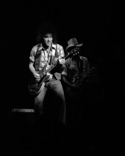 Photograph - Marshall Tucker Winterland 1975 #27 With Elvin by Ben Upham