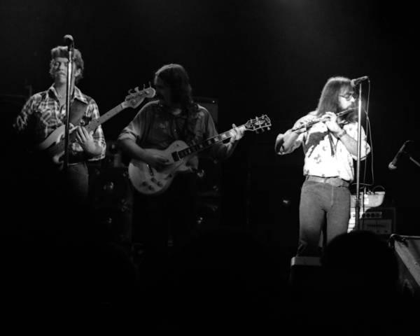 Photograph - Marshall Tucker Winterland 1975 #37 Crop 2 by Ben Upham