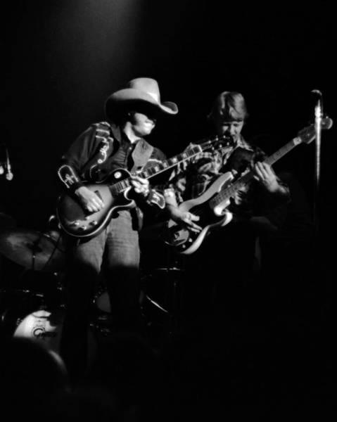 Photograph - Marshall Tucker Winterland 1975 #4 by Ben Upham