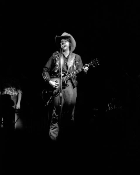 Photograph - Marshall Tucker Winterland 1975 #48 by Ben Upham