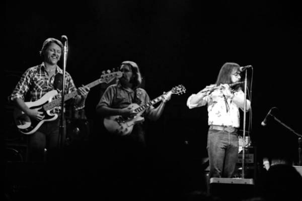 Photograph - Marshall Tucker Winterland 1975 #7 by Ben Upham