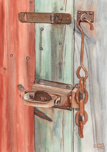 Painting - Marsha's Lock by Ken Powers