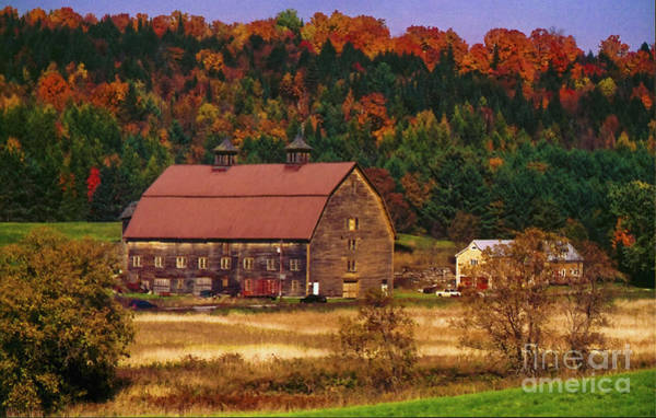 Photograph - Marshfield Vermont by Scenic Vermont Photography