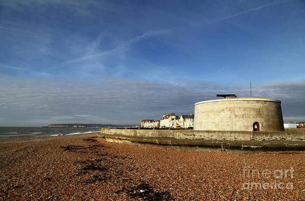 Photograph - Martello Tower At Seaford Sussex by James Brunker