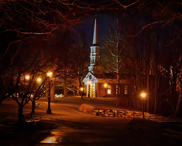 Photograph - Martha Mary Chapel by Susan Rissi Tregoning